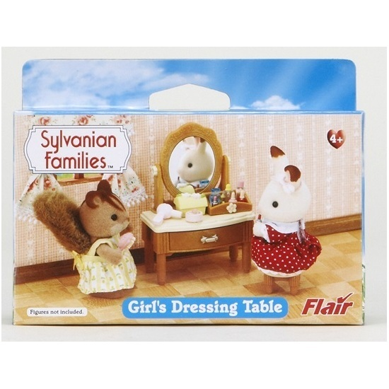 Sylvanian families girls dressing table toy at mighty for Sylvanian families beauty salon dressing table