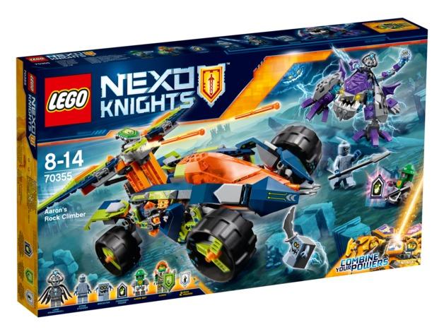 LEGO Nexo Knights - Aaron's Rock Climber (70355)