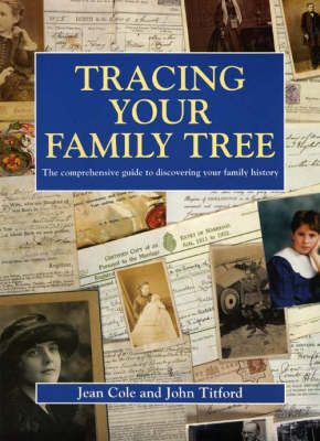 Tracing Your Family Tree by Jean A. Cole image