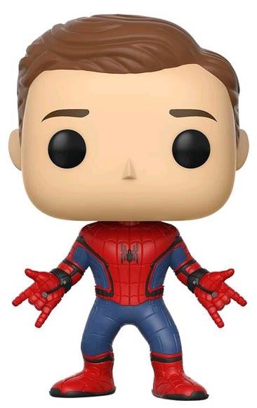 Spider-Man: Homecoming - Spider-Man (Unmasked) Pop! Vinyl Figure