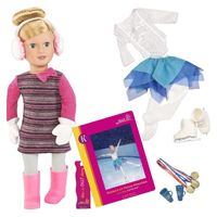 """Our Generation: 18"""" Deluxe Doll & Book - Katelyn"""