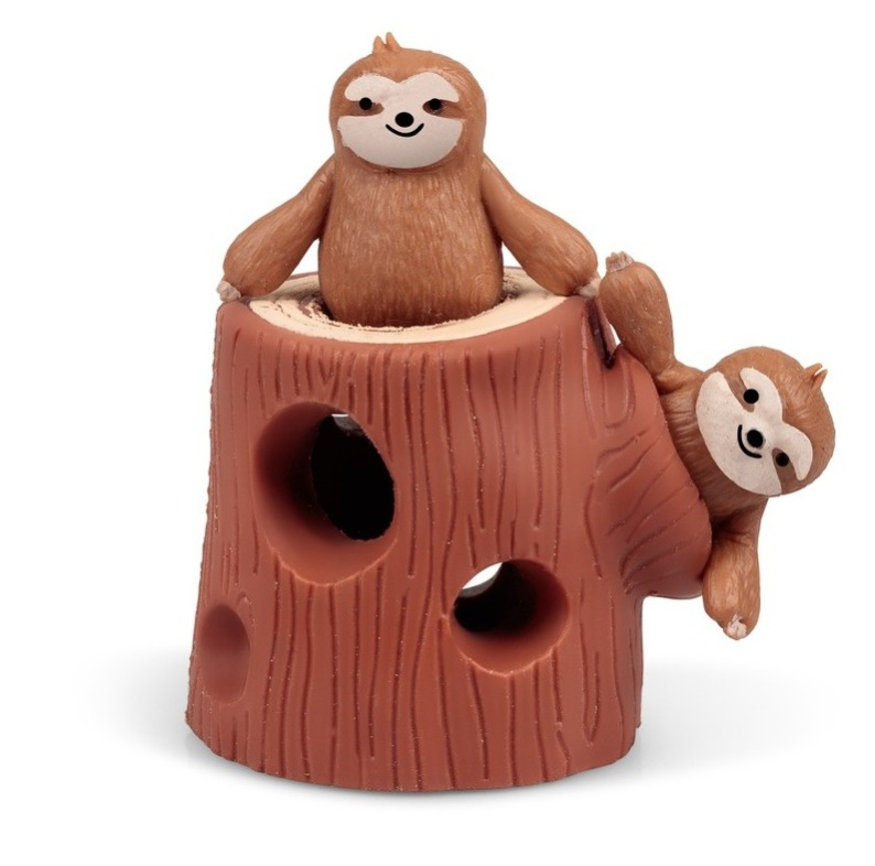 Stretchy Sloth - Tree Stump Set image
