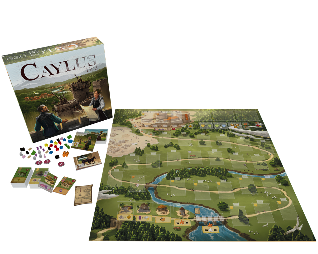 Caylus 1303 - Board Game image