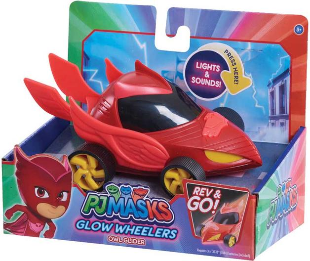 PJ Masks: Glow Vehicle - Owlette