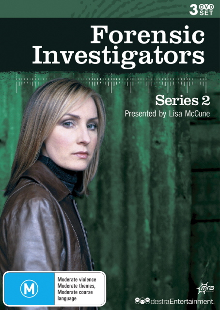 Forensic Investigators - Series 2 (3 Disc Set) on DVD