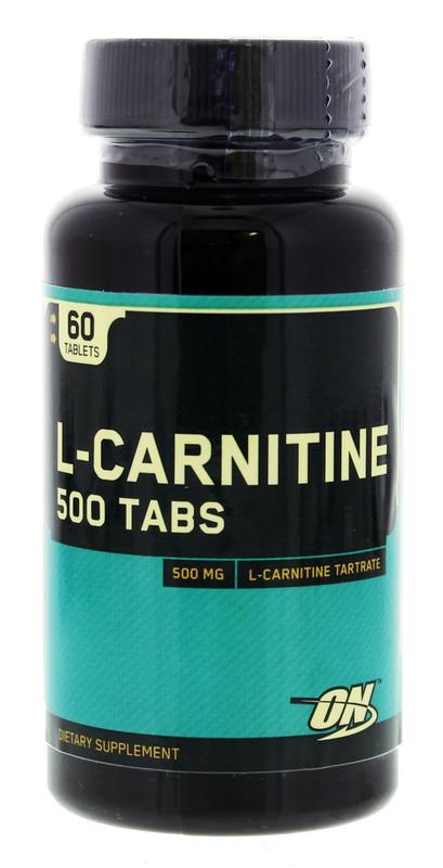 Optimum Nutrition L-Carnitine 500mg (60 Tabs)