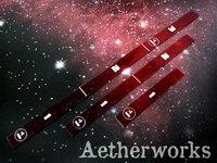 Aetherworks Range Ruler - Transparent Red (3 Pack)