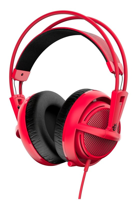 SteelSeries Siberia 200 Headset - Forged Red for PS4
