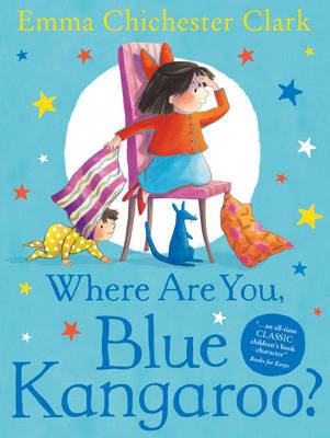 Where Are You, Blue Kangaroo? by Emma Chichester Clark image