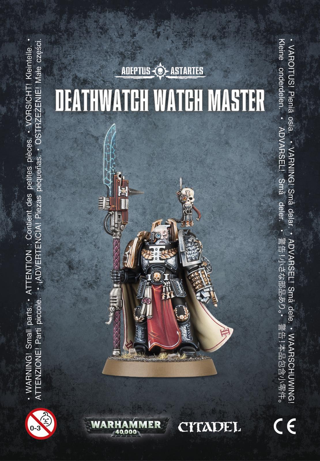 Warhammer 40,000 Deathwatch Watch Master image