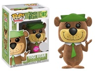 Hanna-Barbera - Yogi Bear (Flocked) Pop! Vinyl Figure