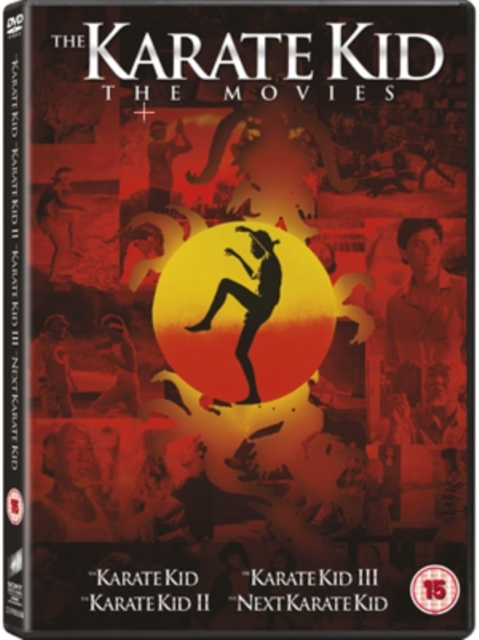 Karate Kid 1-4 Box Set on DVD