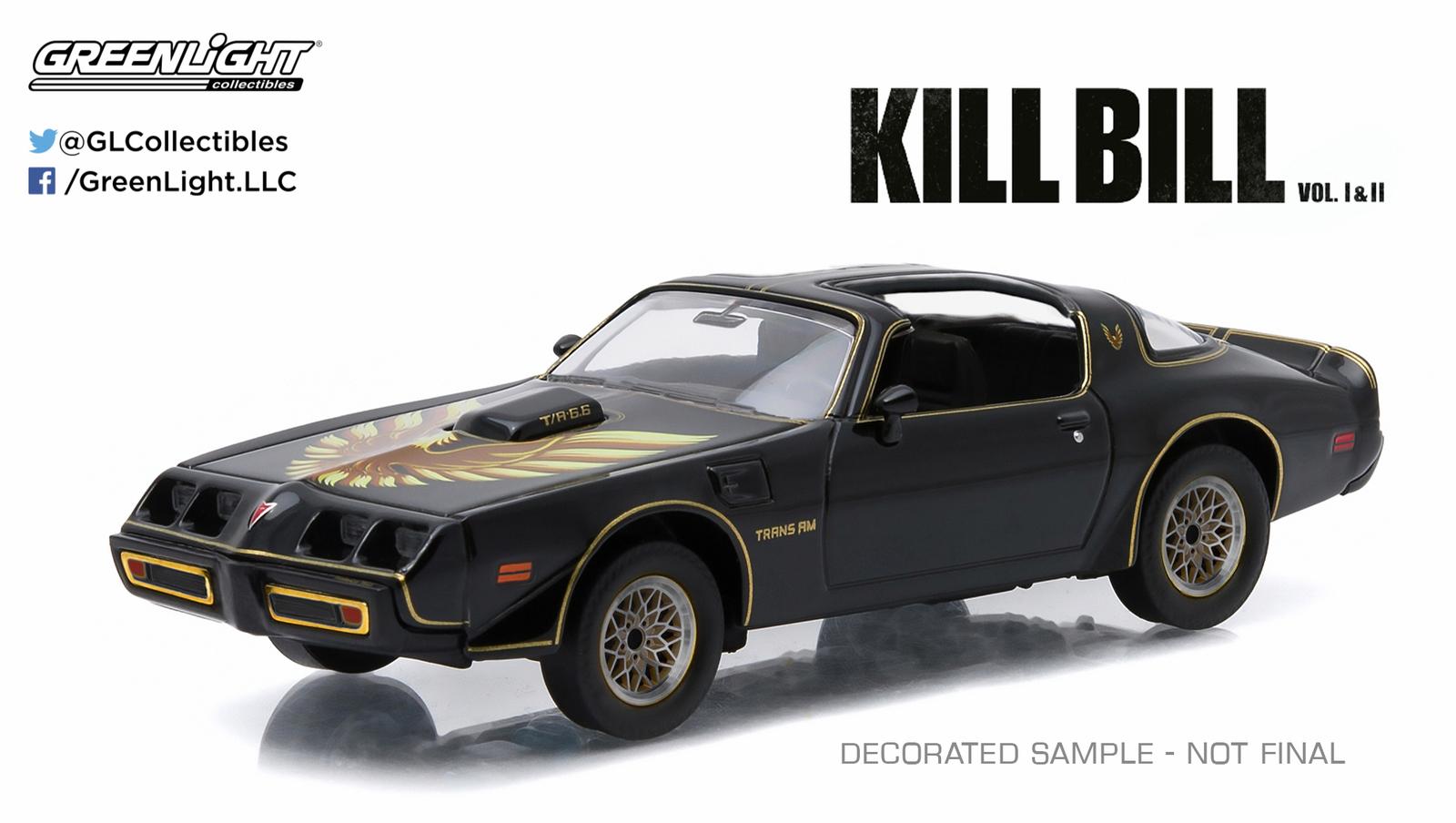 1/43: Pontiac Firebird Trans Am- Kill Bill - Diecast Model image
