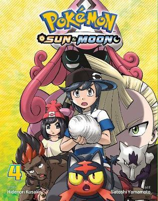 Pokemon: Sun & Moon, Vol. 4 by Hidenori Kusaka