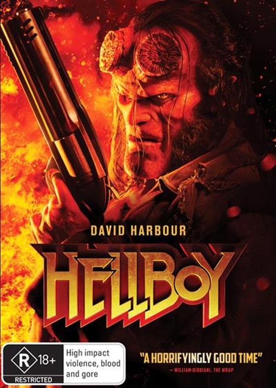 Hellboy on DVD