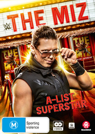 WWE: The Miz - A-list Superstar on DVD