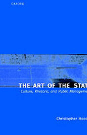 The Art of the State by Christopher Hood image