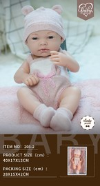 Baby So Lovely: Newborn Baby with Pillow - Girl