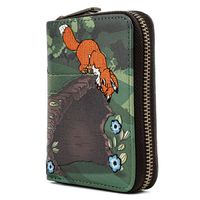 Loungefly: Fox & Hound - Copper Todd Zip Around Wallet