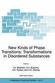 New Kinds of Phase Transitions: Transformations in Disordered Substances