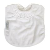 Silly Billyz Towel Large Bib (White)