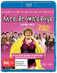 Mrs Brown's Boys - The Complete Third Season on Blu-ray image