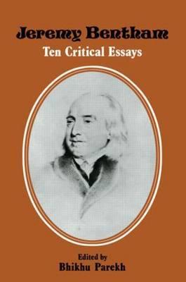 Jeremy Bentham by B.C. Parekh image