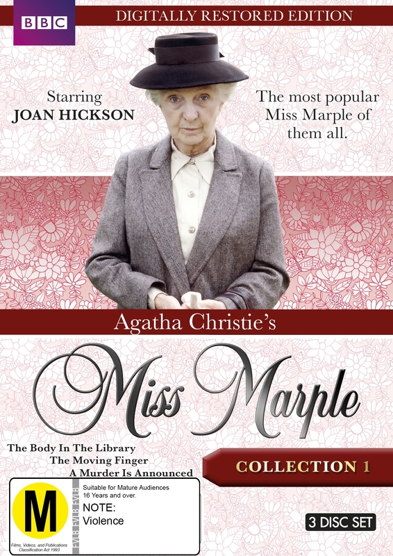 Agatha Christie's Miss Marple - Collection 1 (Restored Edition) on DVD