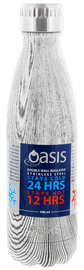 Oasis Insulated Stainless Steel Water Bottle - Driftwood (500ml)