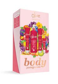 Olive Body Gift Pack - Pomegranate