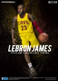 NBA: LeBron James - 1/9 Scale Action Figure
