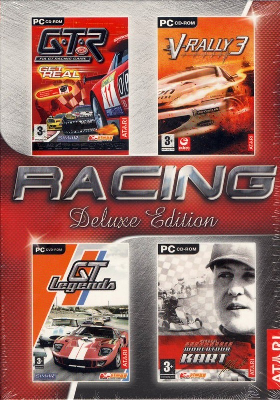 Racing Deluxe Pack (contains 4 games) for PC Games