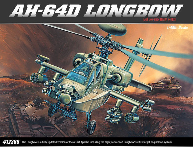 Academy AH-64D Longbow 1/48 Model Kit