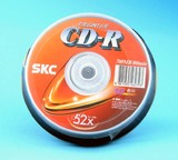 SKC Blank CD Recordable (CD-R) - 10 pack
