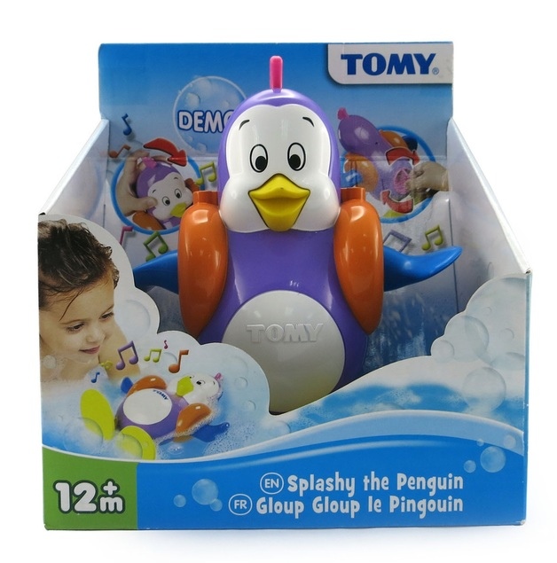 Splashy the Penguin Bath Toy Singing Swimming Fun Present for Young Children