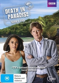 Death In Paradise: Season 5 on DVD