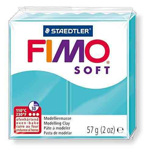 Staedtler Fimo Soft Modelling Clay Block - Peppermint (56g) image