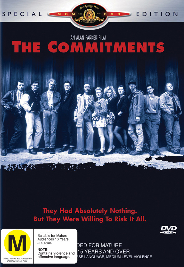 The Commitments on DVD image