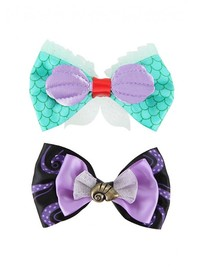 Neon Tuesday: The Little Mermaid - Hair Bow 2 Set image