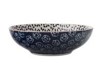 Maxwell & Williams - Boho Coupe Bowl Kiraku Blue (18cm)