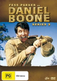 Daniel Boone (1964) - Season 3 (8 Disc Box Set) on DVD image