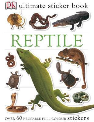 Reptile Ultimate Sticker Book image