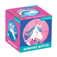 Mudpuppy: Unicorn Magic - Mini Memory Match Game