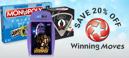20% off Winning Moves!