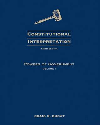 Powers of Government by Craig R Ducat image