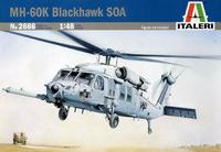 Italeri MH-60K Blackhawk SOA 1:48 Model Kit