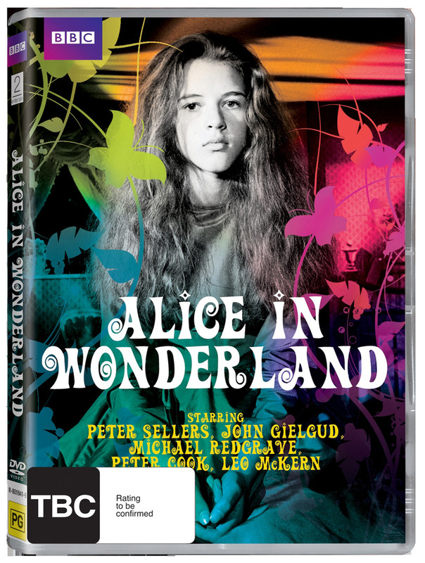 Alice In Wonderland (1966) on DVD