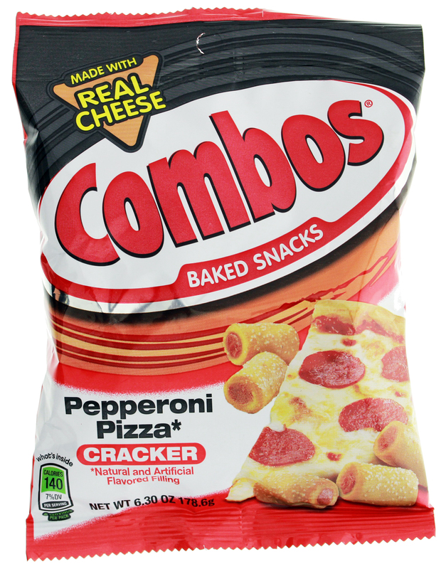 Combos Pepperoni Pizza Cracker Baked Snacks | at Mighty Ape NZ