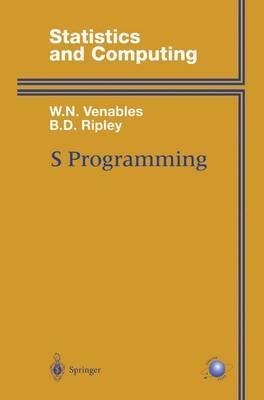 S Programming by William N Venables image
