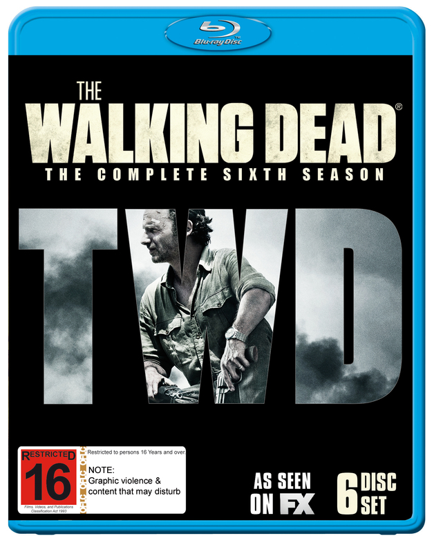 The Walking Dead - The Complete Sixth Season on Blu-ray